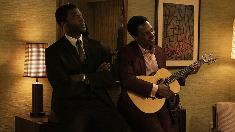 Jim Brown (Aldis Hodge) und Sam Cooke (Leslie -Odom -Jr.)
