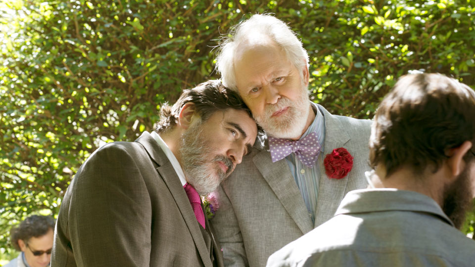 George (Alfred Molina), Ben (John Lithgow)